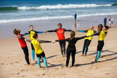 learn to surf with fun portugal