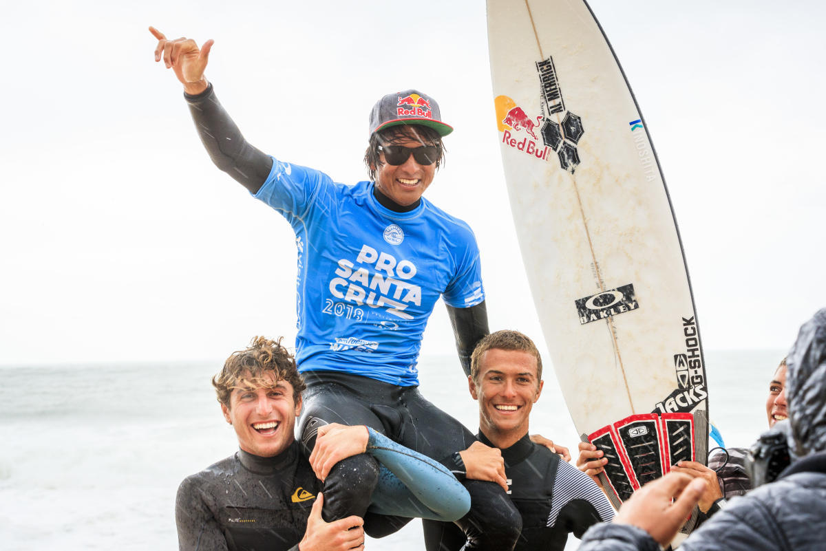 WSL Pro Contest 2019 in Santa Cruz, Portugal