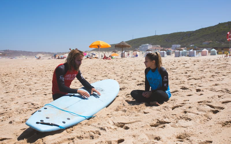 surf school individual lesson